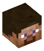 Голова — Аквамариновый блок